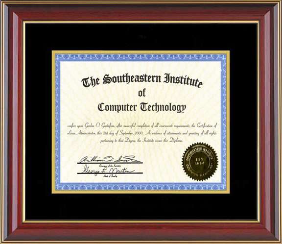Gordon Gus Professional Certifications Diplomas Work Samples
